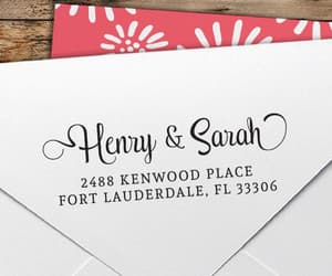 etsy, custom stamp, and wedding stamp image