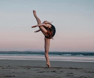 arabesque, dance, and atmosphere image