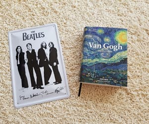 art, bands, and book image