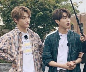 han, jisung, and hyunjin image