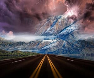 adventure, highway, and journey image