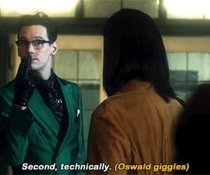 gif, oswald cobblepot, and Gotham image