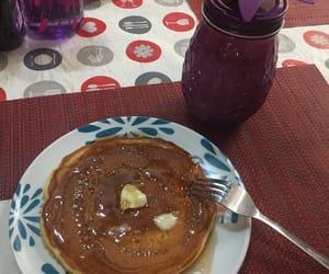breakfast, hotcakes, and desayuno image