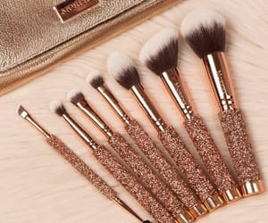Brushes, beauty, and makeup image