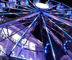 beautiful, ferris wheel, and college image