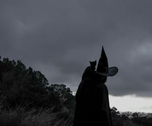witch, dark, and goth image
