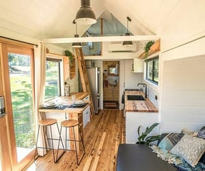 tiny house and house image