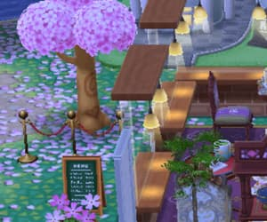 animal crossing, gif, and scenery image