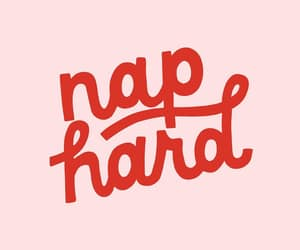 nap, pink, and quote image