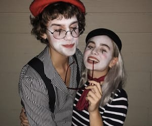 Halloween, love, and couple goals image