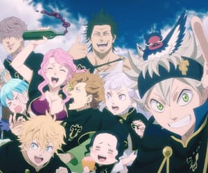 anime, black clover, and asta image