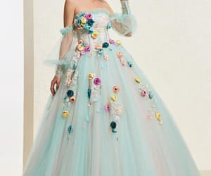 ball gown, evening dresses, and quinceanera dress image