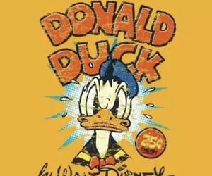 disney, donald duck, and duck image