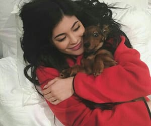 kylie jenner, dog, and jenner image