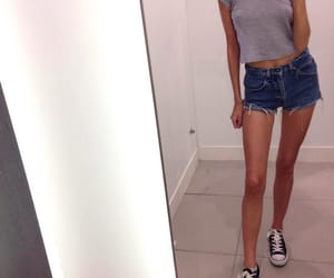 thin, converse, and legs image
