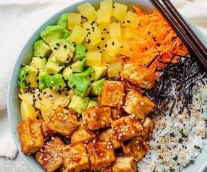 bowl, healthy, and life image