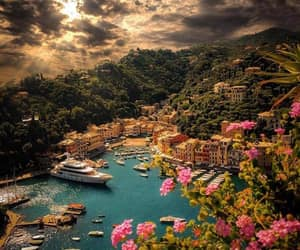 travel, italy, and portofino image