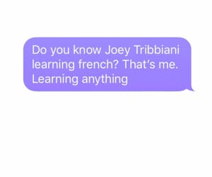 french, Joey, and movie image