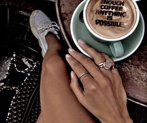 coffe, morning, and day image