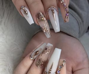 art, nails, and sparkles image