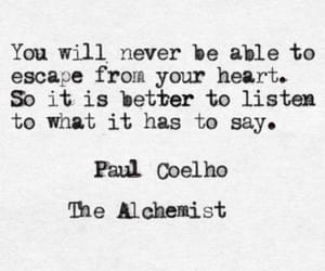 quotes, heart, and the alchemist image