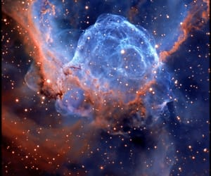 space, beautiful, and universe image