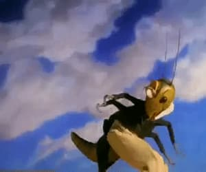gif, Roald Dahl, and james and the giant peach image