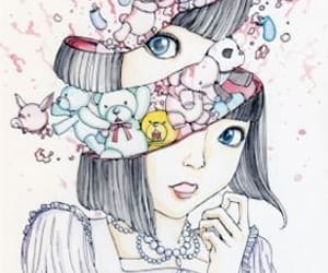 illustration, shintaro kago, and manga image