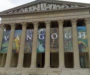 art, museum, and van gogh image