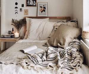 aesthetics, bed, and chill image