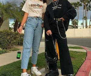 black, jean, and mood image