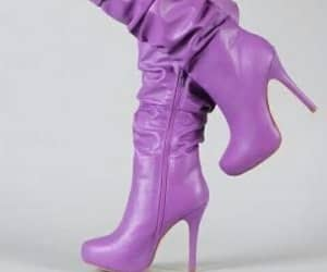 boot, high heels, and fashion image