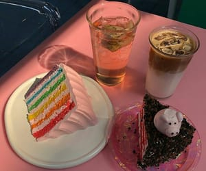 aesthetic, cakes, and coffee image