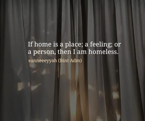 alone, heart, and home image