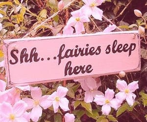 fairy, flowers, and aesthetic image