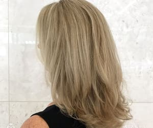 blonde, haircolor, and highlights image