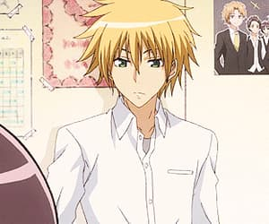 anime, kaichou wa maid-sama, and gif image