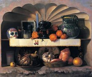 art, bread, and dia de muertos image