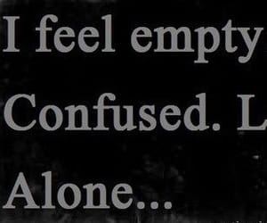 alone, anxiety, and black and white image
