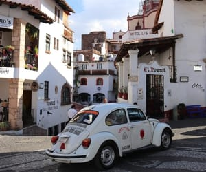 town, white, and taxco image