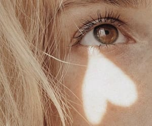 eyes, heart, and eye image