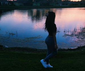 girls, goals, and sky image