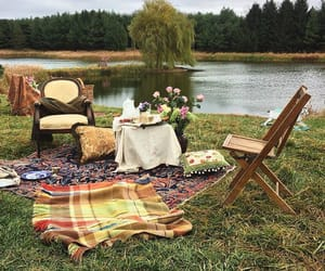 theme, aesthetic, and picnic image