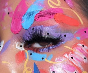 eyes, makeup, and aesthetics image