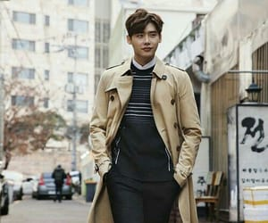 korean, actor, and lee jong suk image