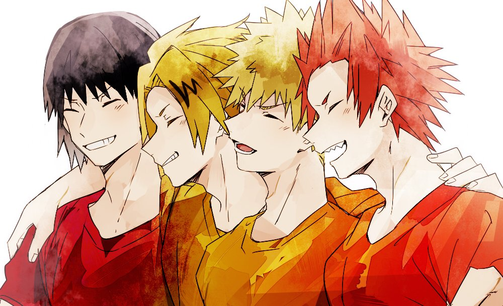 My favorite Boku no Hero Academia Characters on We Heart It
