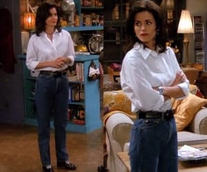 fashion, monica geller, and style image