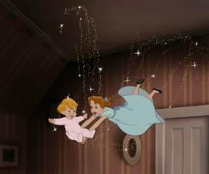 cartoon, peter pan, and love image