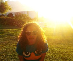 perry, sunset, and cool glasses image