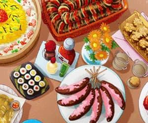 anime, gif, and anime breakfast image
